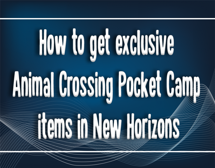 exclusive item animal crossing