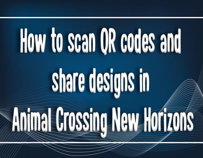 new horizons sharing qr code